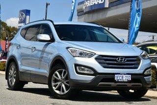 2013 Hyundai Santa Fe DM MY14 Elite Blue 6 Speed Sports Automatic Wagon.
