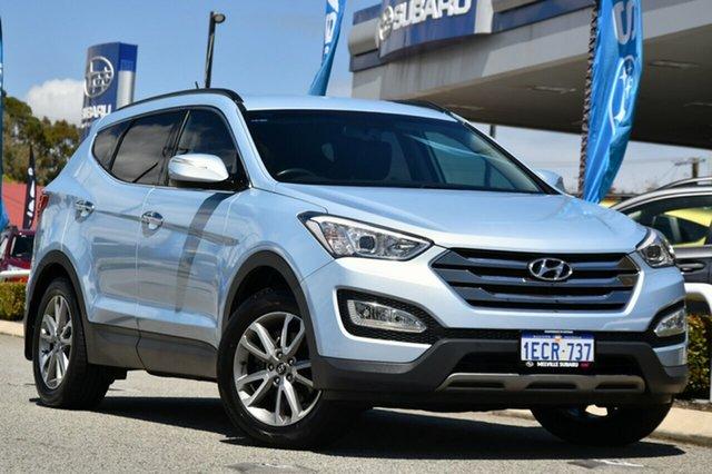 Used Hyundai Santa Fe DM MY14 Elite Melville, 2013 Hyundai Santa Fe DM MY14 Elite Blue 6 Speed Sports Automatic Wagon