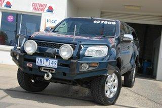 2012 Holden Colorado RG LTZ (4x4) Blue 6 Speed Automatic Crew Cab Pickup.