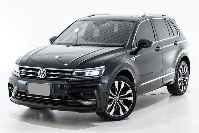 Used Volkswagen Tiguan 5N MY18 162TSI DSG 4MOTION Highline Berwick, 2018 Volkswagen Tiguan 5N MY18 162TSI DSG 4MOTION Highline Black 7 Speed