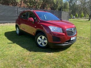 2014 Holden Trax TJ LS Red 5 Speed Manual Wagon.