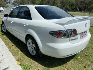 2006 Mazda 6 GG1032 Classic White 5 Speed Sports Automatic Sedan