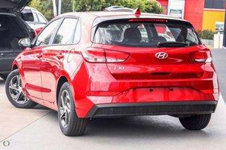2021 Hyundai i30 PD.V4 MY22 Fiery Red 6 Speed Sports Automatic Hatchback.