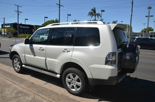 2007 Mitsubishi Pajero NS VR-X LWB (4x4) White 5 Speed Auto Sports Mode Wagon.