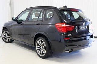 2014 BMW X3 F25 LCI MY0414 xDrive20d Steptronic Black 8 Speed Automatic Wagon.
