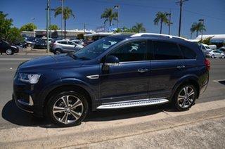 2016 Holden Captiva CG MY17 7 LTZ (AWD) Blue 6 Speed Automatic Wagon.