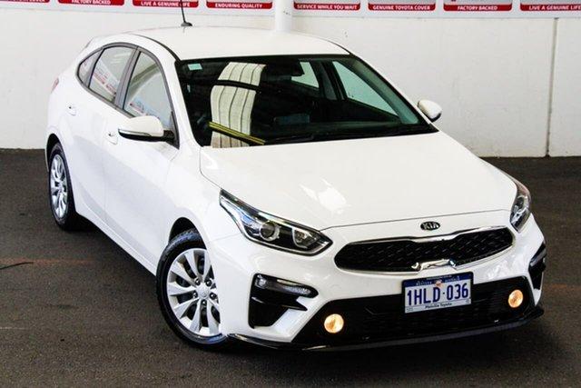 Pre-Owned Kia Cerato BD MY19 S Myaree, 2019 Kia Cerato BD MY19 S White 6 Speed Automatic Hatchback