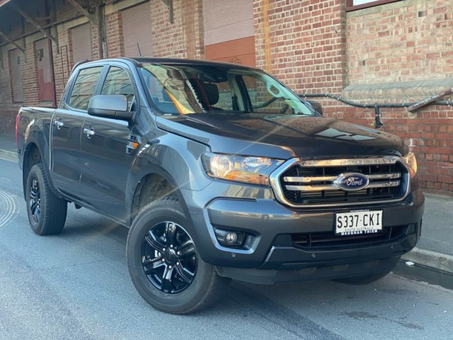Demo Ford Ranger PX MkIII 2021.25MY XLS Port Adelaide, 2021 Ford Ranger PX MkIII 2021.25MY XLS Meteor Grey 6 Speed Sports Automatic Double Cab Pick Up