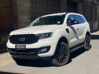 2020 Ford Everest UA II 2021.25MY Sport Arctic White 6 Speed Sports Automatic SUV.