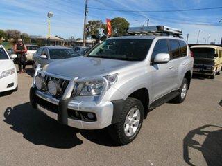 2012 Toyota Landcruiser Prado KDJ150R 11 Upgrade GXL (4x4) Silver 5 Speed Sequential Auto Wagon.
