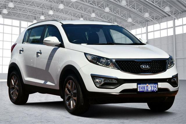 Used Kia Sportage SL MY15 Si 2WD Premium Victoria Park, 2015 Kia Sportage SL MY15 Si 2WD Premium White 6 Speed Sports Automatic Wagon