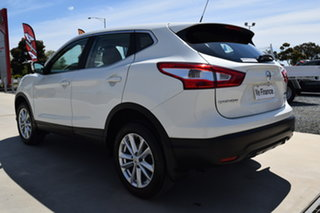 2016 Nissan Qashqai J11 ST White Pearl 1 Speed Continuous Variable Transmission Wagon