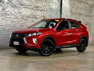 2019 Mitsubishi Eclipse Cross YA MY19 Black Edition 2WD Red 8 Speed Constant Variable Wagon