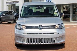 2021 Volkswagen Caddy 5 SK MY21 Maxi TDI320 Reflex Silver 7 Speed Auto Direct Shift Wagon.