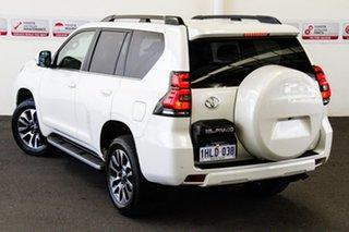 Toyota Landcruiser Prado Crystal Pearl Wagon.