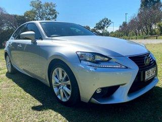 2016 Lexus IS ASE30R IS200t Luxury Silver Lining 8 Speed Sports Automatic Sedan.