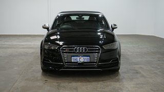 2015 Audi S3 8V MY16 S Tronic Quattro Black 6 Speed Sports Automatic Dual Clutch Cabriolet