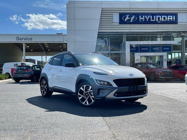 New Hyundai Kona Os.v4 MY21 Highlander TTR (FWD) South Melbourne, 2021 Hyundai Kona Os.v4 MY21 Highlander TTR (FWD) Sw1 Continuous Variable Wagon