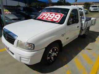2004 Mazda Bravo B2600 DX 4x2 White 5 Speed Manual Cab Chassis.