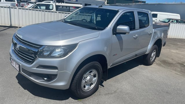 Used Holden Colorado RG MY16 LS Crew Cab 4x2 Moorooka, 2016 Holden Colorado RG MY16 LS Crew Cab 4x2 Silver 6 Speed Sports Automatic Utility