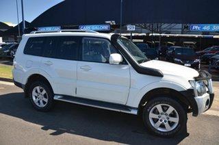 2007 Mitsubishi Pajero NS VR-X LWB (4x4) White 5 Speed Auto Sports Mode Wagon