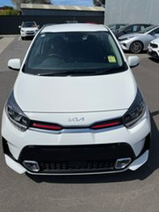 2021 Kia Picanto JA MY22 GT-Line Clear White 4 Speed Automatic Hatchback.