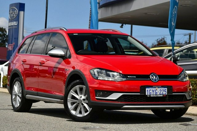 Used Volkswagen Golf 7.5 MY19.5 Alltrack DSG 4MOTION 132TSI Melville, 2019 Volkswagen Golf 7.5 MY19.5 Alltrack DSG 4MOTION 132TSI Red 6 Speed Sports Automatic Dual Clutch