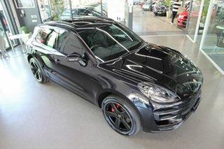 2016 Porsche Macan 95B MY17 Turbo PDK AWD Black 7 Speed Sports Automatic Dual Clutch Wagon