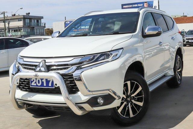 Used Mitsubishi Pajero Sport QE MY17 GLX Coburg North, 2017 Mitsubishi Pajero Sport QE MY17 GLX White 8 Speed Sports Automatic Wagon