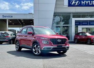 2021 Hyundai Venue Qx.v4 MY22 Active Fiery Red 6 Speed Automatic Wagon.