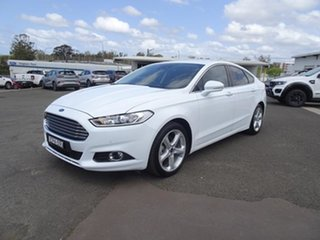 2018 Ford Mondeo MD 2018.75MY Trend White 6 Speed Automatic Hatchback.