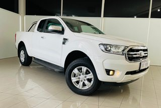 2020 Ford Ranger PX MkIII 2020.75MY XLT Arctic White 10 Speed Sports Automatic Super Cab Pick Up.