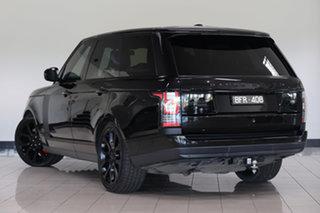2013 Land Rover Range Rover L405 14MY SDV8 Vogue Santorini Black 8 Speed Sports Automatic Wagon.