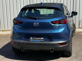2020 Mazda CX-3 DK2W7A Akari SKYACTIV-Drive FWD Eternal Blue 6 Speed Sports Automatic Wagon