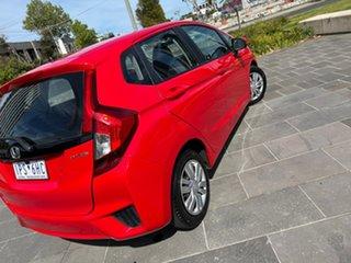 2015 Honda Jazz GF MY16 VTi Red 1 Speed Constant Variable Hatchback