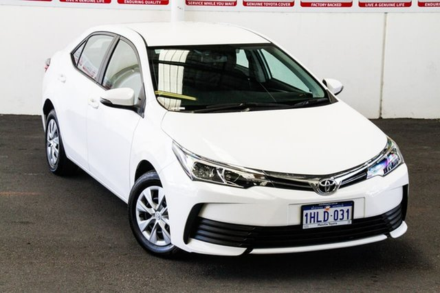 Pre-Owned Toyota Corolla ZRE172R MY17 Ascent Myaree, 2018 Toyota Corolla ZRE172R MY17 Ascent Glacier White 7 Speed CVT Auto Sequential Sedan