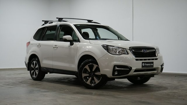 Used Subaru Forester S4 MY18 2.5i-L CVT AWD Welshpool, 2018 Subaru Forester S4 MY18 2.5i-L CVT AWD Crystal White 6 Speed Constant Variable Wagon