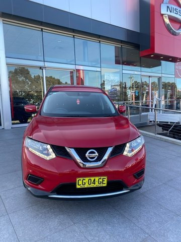 Used Nissan X-Trail T32 ST X-tronic 4WD Liverpool, 2014 Nissan X-Trail T32 ST X-tronic 4WD Red 7 Speed Constant Variable Wagon