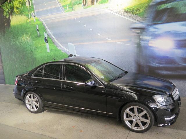 Used Mercedes-Benz C-Class W204 MY12 C350 CDI BlueEFFICIENCY 7G-Tronic + Avantgarde Osborne Park, 2012 Mercedes-Benz C-Class W204 MY12 C350 CDI BlueEFFICIENCY 7G-Tronic + Avantgarde Black 7 Speed