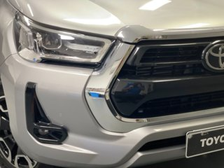 2021 Toyota Hilux GUN126R SR5 Double Cab Silver 6 Speed Sports Automatic Utility.