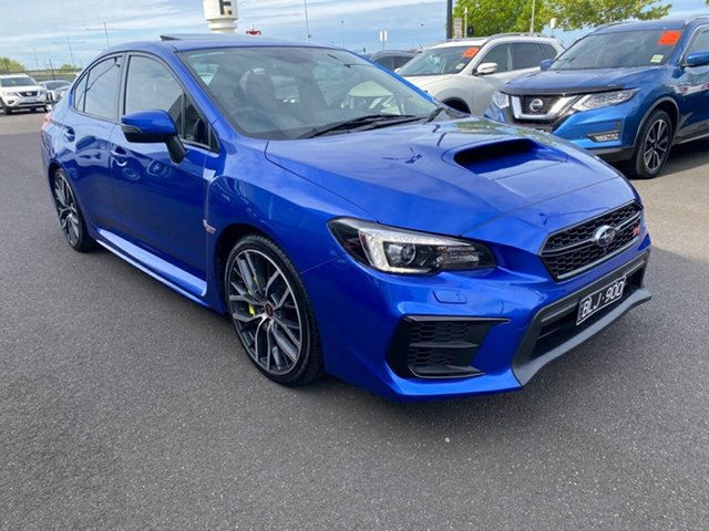 Used Subaru WRX V1 MY20 STI AWD spec.R Essendon Fields, 2019 Subaru WRX V1 MY20 STI AWD spec.R Blue 6 Speed Manual Sedan
