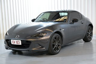 2016 Mazda MX-5 ND RF SKYACTIV-MT Grey 6 Speed Manual Targa.