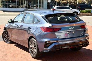 2021 Kia Cerato BD MY22 Sport Mineral Blue 6 Speed Sports Automatic Hatchback.