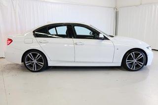 2017 BMW 3 Series F30 LCI 320i M Sport White 8 Speed Sports Automatic Sedan.