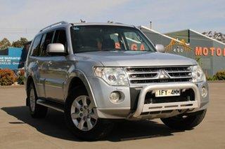 2010 Mitsubishi Pajero NT MY10 Platinum Edition Silver 5 Speed Auto Sports Mode Wagon.