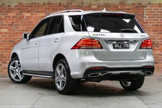 2015 Mercedes-Benz GLE-Class W166 GLE250 d 9G-Tronic 4MATIC Iridium Silver 9 Speed Semi Auto Wagon.