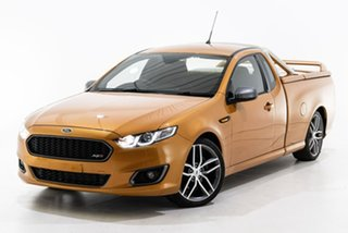 2014 Ford Falcon FG X XR6 Ute Super Cab Turbo Gold 6 Speed Sports Automatic Utility.