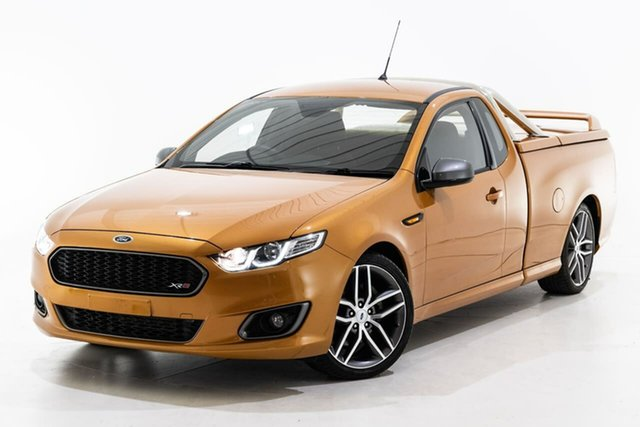 Used Ford Falcon FG X XR6 Ute Super Cab Turbo Berwick, 2014 Ford Falcon FG X XR6 Ute Super Cab Turbo Gold 6 Speed Sports Automatic Utility