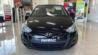 2014 Hyundai i20 PB MY14 Active Black 4 Speed Automatic Hatchback.
