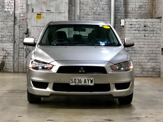 2013 Mitsubishi Lancer CJ MY13 ES Sportback Silver 5 Speed Manual Hatchback.